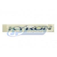 """EMBLEMA """"KYRON"""" TRASEIRO DA KYRON 79910-09000"""