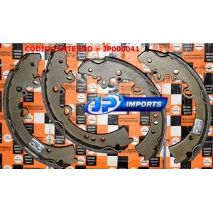 SAPATA FREIO TRASEIRA JOGO MAHINDRA GOA SUV E PICK-UP 0602BB0710N JP000041