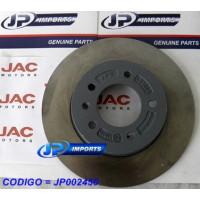 DISCO FREIO TRASEIRO (JOGO) JAC J6 3500028U2010 JP002450